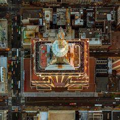 Empire State Building. #empirestatebuilding #newyork #nyc #aerialphotography by jeffreymilstein