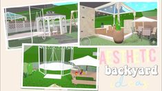 Three Aesthetic Backyard Ideas! - YouTube Two Story House Design, Tiny House Layout, House Layouts, Simple House Plans, Family House Plans, Cottage House Plans, Family Houses, Tiny House Bedroom, Bedroom House Plans