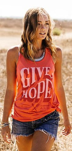 Each purchase of this amazing coral shirt, or other products, provides a child in the Philippines with enough food for a whole month!  Go and make a difference here ►  http://www.sevenly.org/?cid=InflPinterest0002Rebecca