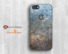 iphone 5 cover iphone 5 cases  iphone 5 case classic metal logo graphic design printing atwoodting design. $14.99, via Etsy.