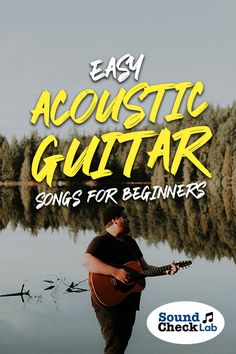 Here are some of the super easiest guitar songs that beginners can start playing. Guitar Songs For Beginners, Easy Guitar Songs, Playing Guitar, Learning Guitar, Guitar Chords, Music Guitar, Famous Songwriters, Guitar Reviews, Sheet Music Art