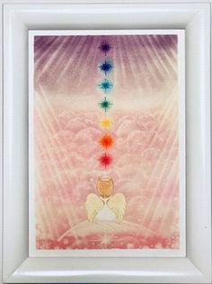 【オーロラを観ている天使】 オーロラの意味は、ローマ神話の曙 の女神で「夜明けの女神」と言う 意味で、大きな幸運が舞い込む幸運 の象徴だそうです。  天使は、後ろ向きではないんです よ。前を向いているんです。  羽根の上でちょっと一休みしたら、 立ち上がって歩いて行けるといいな そういう願いを込めて描いて みました。  観る方それぞれの気になる部分が癒 されるように、天使のわっか👼 に降りてきた光は、チャクラカラーを使いました。  メディカルメッセージはこちらから https://ameblo.jp/slow-life50/entry-12334783639.html