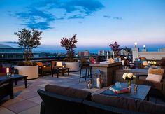 Ver el atardecer desde la terraza de nuestra suite presidencial no tiene precio. Renaissance Washington, DC Downtown Hotel #Washington