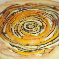 Wortel en courgette taart