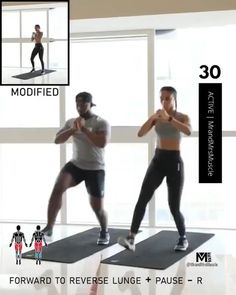 Fitness Workouts, Full Body Hiit Workout, Hiit Workout At Home, Gym Workout Videos, Gym Workout For Beginners, Fitness Workout For Women, Sport Fitness, Butt Workout, Body Fitness