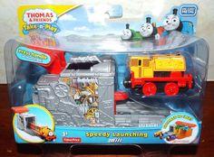Thomas & Friends Take n Play SPEEDY LAUNCHING BILL New! #FisherPrice