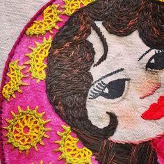 Sarah #matrioska #Stitching #bordando