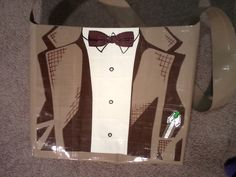 11th Doctor duct tape bag