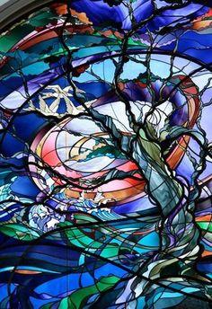 """Tree of Life"", White Theatre & Recital Hall -  Overland Park (Kansas City), Kansas - Artist: Kathy Barnard"