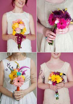 wedding bouquets...cute