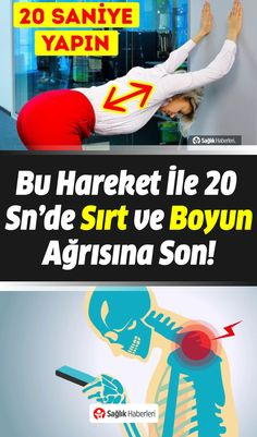 Bu Hareket İle 20 Saniyede Boyun ve Sırt Ağrısına Son! - Pin Tutorial and Ideas Health Advice, Health Quotes, Yoga Fitness, Health Fitness, Easy At Home Workouts, Neck And Back Pain, Health Motivation, Workout Motivation, How To Slim Down