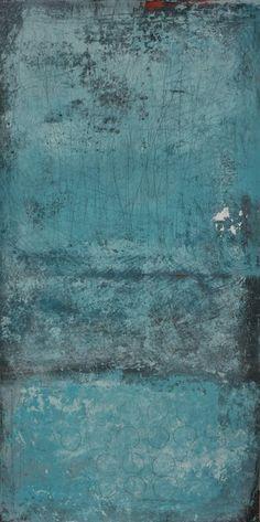 abstrakte Acrylmalerei, Unikat, Original,100x50cm von Kunst & Design Werkstatt auf DaWanda.com