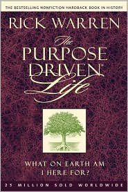 The Purpose Driven® Life 1st (first) edition Text Only by Rick Warren http://www.amazon.com/dp/B004O0KU0C/ref=cm_sw_r_pi_dp_V0oxub1KM3TH1