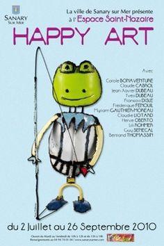 Affiche Happy Art 2010