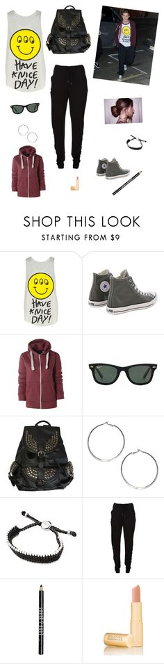 """""""Twin Day with Louis"""" by mary-5so1ds ❤ liked on Polyvore featuring Have a Nice Day, Converse, AX Paris, Ray-Ban, Wallis, Links of London, Chalayan, Lord & Berry and Fashion Fair"""