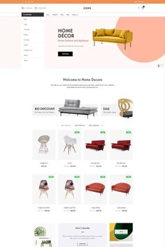 """Coro is a clean, minimal, creative and modern eCommerce theme for WordPress platform. Powered by WordPress' most popular eCommerce platform """"WooCommerce"""", Coro can be the too Web Design Services, Web Design Company, Minimal Web Design, Corporate Website, Learn Programming, Wordpress Theme Design, Landing Page Design, Website Design Inspiration, Ecommerce"""