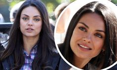 Mila Kunis spotted on set for her new comedy Bad Moms in New Orleans