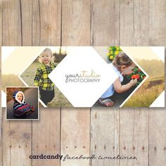 Facebook Timeline Template Design for by cardcandydotcom on Etsy, $6.00