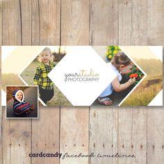 Facebook Timeline Template Design for by cardcandydotcom on Etsy, $6.00