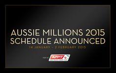 Publicado el calendario del Aussie Millons 2015 http://www.allinlatampoker.com/publicado-el-calendario-del-aussie-millons-2015/