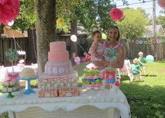My little one might be getting a Lilly Pulitzer 1st birthday party