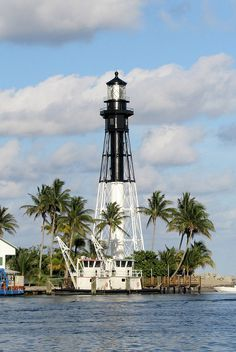 Lighthouse at Hillsboro Inlet, Florida
