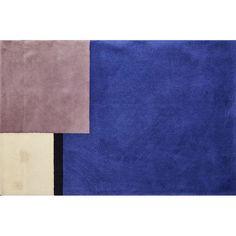 Eileen Gray, Ecart International | Wool room-sized rug with color-block motif | Artsy