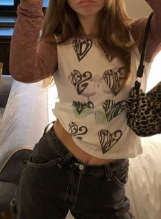 Mode Outfits, Grunge Outfits, Casual Outfits, Fashion Outfits, Girl Fashion, Vetements Clothing, 2000s Fashion, Fashion Moda, Facon
