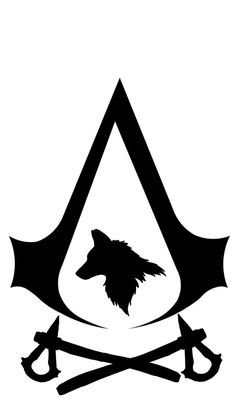 AC 3 symbol by - Assassin's Creed Tatuajes Assassins Creed, Assassins Creed Tattoo, Assassins Creed Series, Assasing Creed, Assassin's Creed Wallpaper, Wolf Silhouette, Gaming Tattoo, Gaming Wallpapers, Symbols