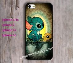 Stitch Swimming Turtle  Photograph iphone 5 case by charmcover, $7.99