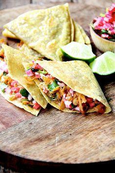sweet potato tacos or quesadillas