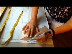 Básico de la falda 2. Step by step How to make a skirt II - YouTube