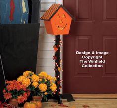Pumpkin House Lightpost Pattern