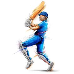 Batsman Playing Cricket Championship Sports Stock Vector - Illustration of poster, player: 113352126 India Cricket Team, Cricket Sport, Cricket Match, Cricket Wallpapers, Sports Wallpapers, Cricket Logo Design, Cricket Poster, Ms Dhoni Wallpapers, Cricket
