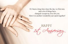 1st Wedding Anniversary Quotes 2