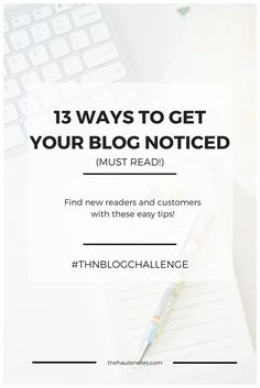get your blog noticed, how to get noticed online, how to find blog readers