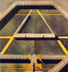 Works by architect Aldo Rossi - Even in a place I had only read about, I still read about other places - but does it float