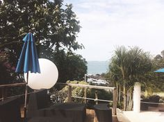MY/CG - My Caribbean Gateway features one of the Trinidad & Tobago issue partners, the chic Bacolet Beach Club in Tobago Beach Club, Trinidad And Tobago, Caribbean, Places To Visit, Patio, Outdoor Decor, Terrace, Porch, Courtyards