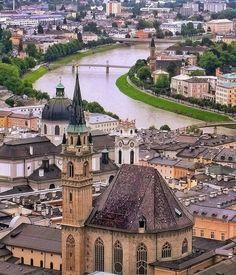 shots on Somegram Travel Tags, Salzburg Austria, View Photos, Beautiful Places, Beautiful Scenery, Adventure Travel, Paris Skyline, Cool Pictures, Travel Destinations