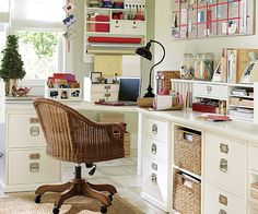 THIS WOULD ALSO BE THE PERFECT ROOM TO DO CRAFTS> IKEA Sewing Room | Sewing Room ideas