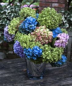Hydrangea Bouquet... these are some of my favorite flowers!