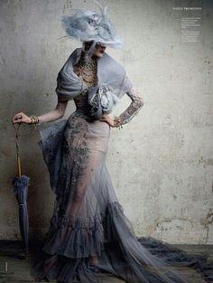 Lovely victorian dress