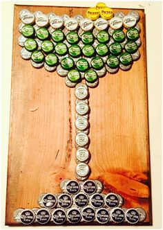 Diy Bottle Cap Crafts 769271180083178299 - Legendary Cap of the bottle, margarita glass, glass, artwork Source by saturnpro Diy Bottle Cap Crafts, Beer Cap Crafts, Bottle Cap Projects, Cork Crafts, Diy And Crafts, Arts And Crafts, Beer Cap Art, Beer Caps, Bottle Top Art