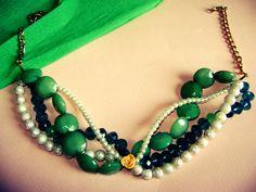 handmade necklace. . . <3