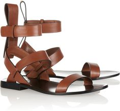 Annette Leather Sandals - Lyst