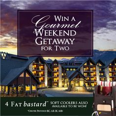 Contest Alert! Soft Cooler, Banff National Park, Weekend Getaways, The Incredibles, Vacation, Vacations, Holiday, Holidays