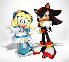 Maria and Shadow the hedgehog by Epilucial