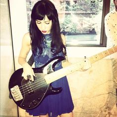 Jess Origliasso The blue one who couldn't get enough of the untouched chorus!