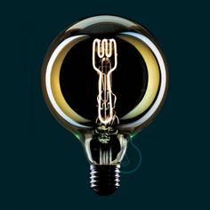 The Masterchef LED globe light bulb with fork element works with a dimmer to create the perfect mood in any home kitchen, restaurant or cafe. Led Globe Lights, Essential Kitchen Tools, Light Bulb Types, Pendant Lighting, House Design, Fork, Retro, Cottages, Cabins