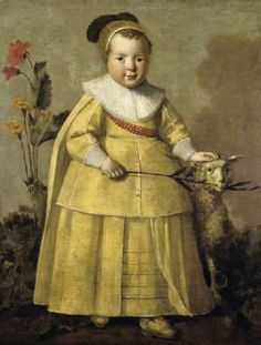 """One-Year-Old Boy with a Sheep"" by Aelbert Cuyp (1639)"